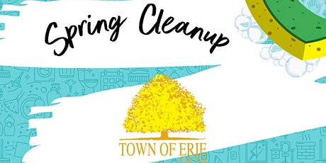 Town of Erie Spring Cleanup entradas