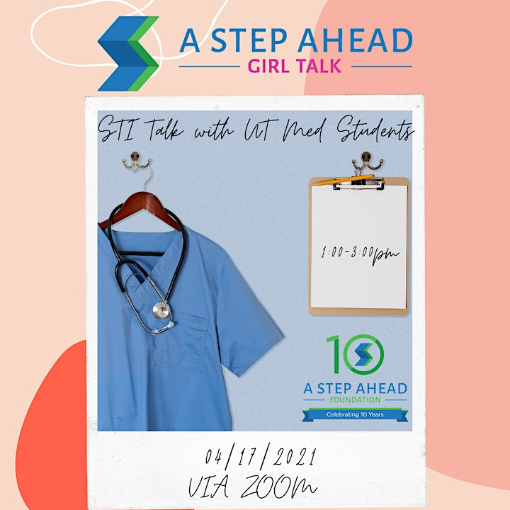 Community Girl Talk with A Step Ahead Foundation image