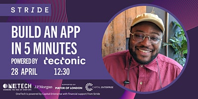 Build an App in 5 Minutes with Dan Parry (Head of Product at Tectonic)