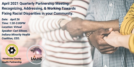 Quarterly HCHP Meeting-Working towards Fixing Racial Disparities tickets