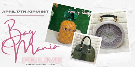 Join us for a fun shopping event on FACEBOOK LIVE! tickets