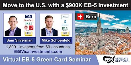 U.S. Green Card Virtual Seminar – Bern, Switzerland tickets