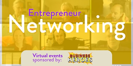 (ONLINE) Entrepreneur Networking tickets