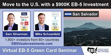 U.S. Green Card Virtual Seminar – San Salvador, El Salvador tickets