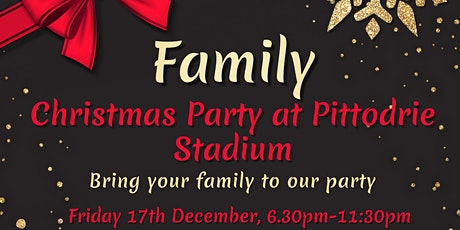 Family Christmas Party Night at Pittodrie Stadium tickets
