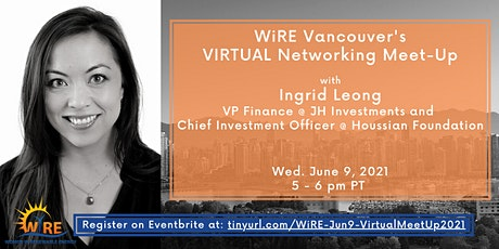 Virtual Networking Meet-Up w WiRE Vancouver tickets