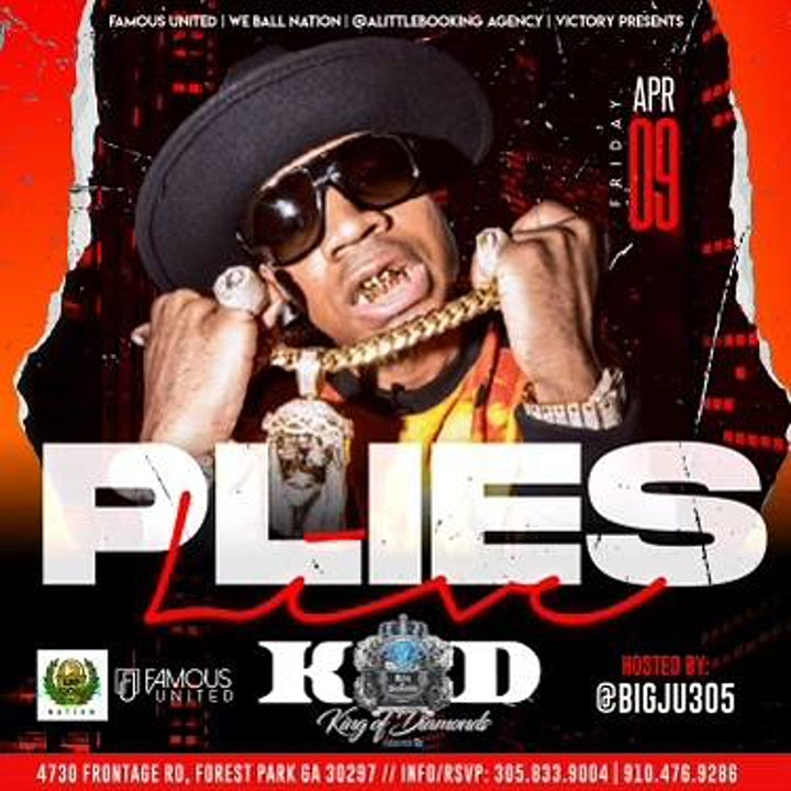 Gucci Mane and Plies Invade KOD Atlanta April 9th & April 10th image