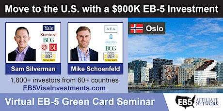 U.S. Green Card Virtual Seminar – Oslo, Norway tickets