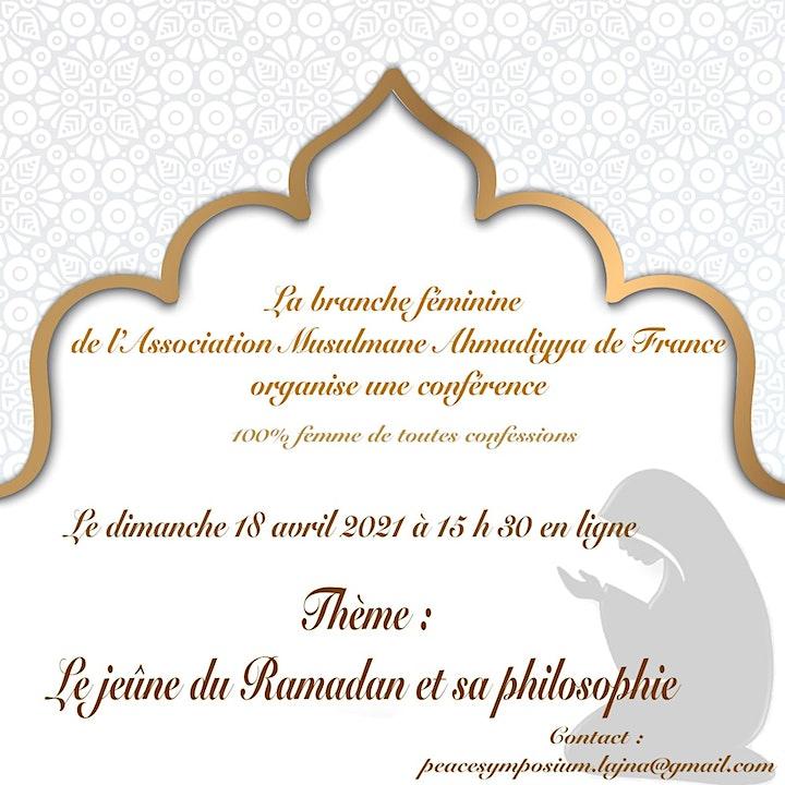 Image pour Le jeûne du Ramadan et sa Philosophie