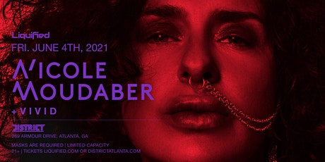NICOLE MOUDABER | Friday June 4th 2021 | District Atlanta tickets
