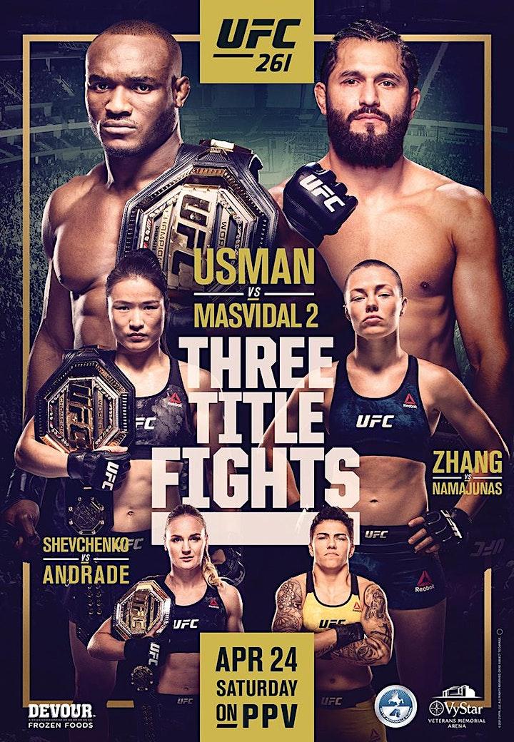 UFC 261 Viewing Party Usman vs. Masvidal 2 at Mac's Wood Grilled image