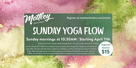 Sunday Yoga Flow tickets