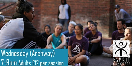 Esprit Concrete  - Outdoor Session (Archway) tickets