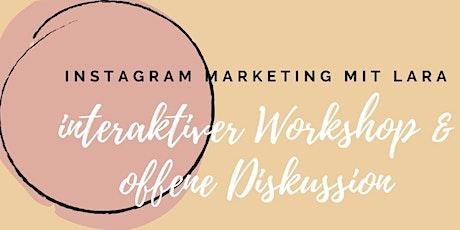 Instagram Workshop III: Wie Geld verdienen auf Instagram? Tickets