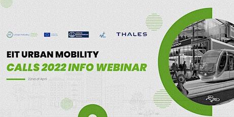 EIT Urban Mobility Calls 2022 Info Webinar tickets