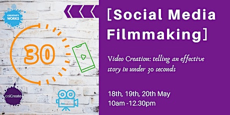 [Social Media Filmmaking] an Intermediate level workshop with Chris Kemp tickets