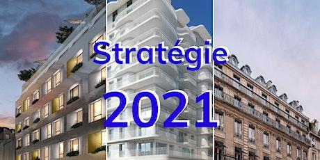 Présentation de la stratégie 2021 billets