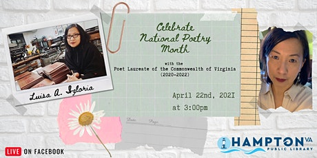Celebrate National Poetry Month with Luisa A. Igloria tickets