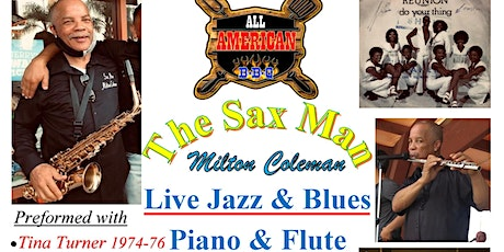 Free Live Jazz & Blues on the Sax, Piano & Flute @ All American BBQ tickets