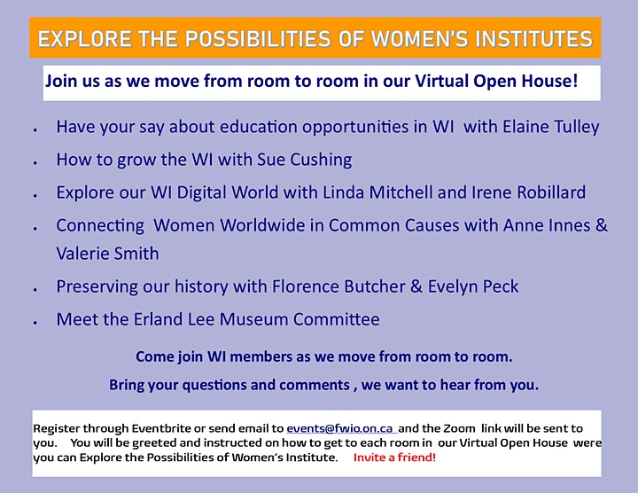 EXPLORE THE POSSIBILITIES OF WOMEN'S INSTITUTE image