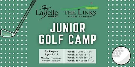 Junior Golf Camp tickets