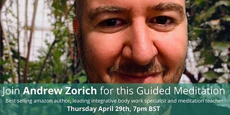 tpot's Guided Meditation Session with Andrew Zorich, DiamondBody Founder tickets