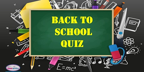 Carers Service - Back to School Quiz tickets