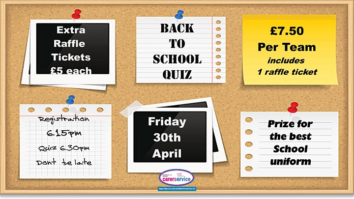 Carers Service - Back to School Quiz image