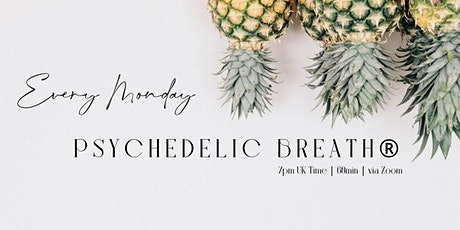 Weekly Global  Intention Setting Breathwrk|PSYCHEDELIC BREATH® w/Vik tickets