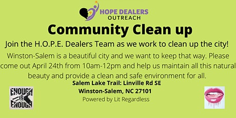 Community Clean-Up! tickets