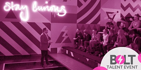 Bolt Digital - Senior Account Director role launch - Virtual Talent Event tickets