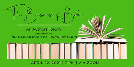 The Business of Books: An Authors Forum tickets