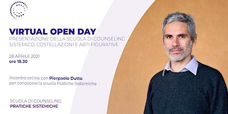 Open Day: Scuola di Counseling Sistemico, Costellazioni e Arti figurative biglietti
