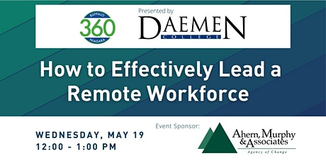 BN360 Event:How to Effectively Lead a Remote Workforce tickets