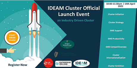 IDEAM Cluster Official Launch tickets