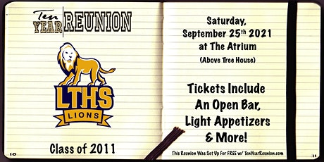 Lyons Township Class of 2011: Ten Year Reunion tickets