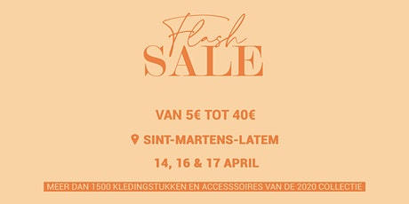 FLASH SALE @ SINT-MARTENS-LATEM tickets