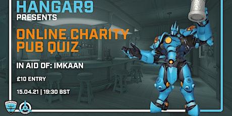 Hangar9 Charity Overwatch Pub Quiz tickets