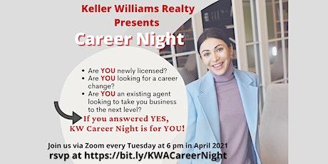Keller Williams Arlington presents Career Night tickets