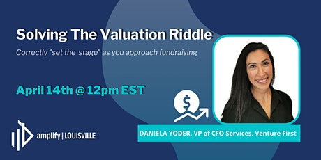 Solving the Valuation Riddle tickets