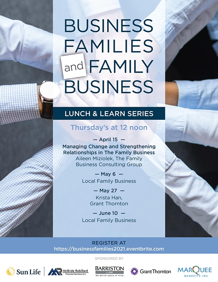 Family In Business Lunch & Learn Series image