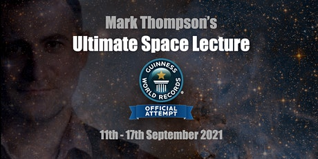 Guinness World Record Attempt - Longest Marathon Lecture - Session 2 tickets
