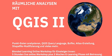 QGIS II - Workshop für Einsteiger:innen Tickets