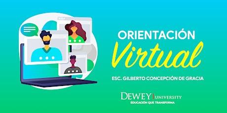Orientación a estudiantes de Escuela Superior - Escuela Gilberto Concepción entradas