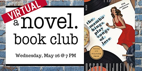 A Novel Book Club: The Mambo Kings Play Songs of Love tickets