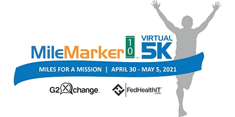 MileMarker10 Virtual 5K: Miles for a Mission tickets