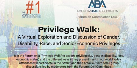 Privilege Walk: A Virtual Exploration and Discussion tickets