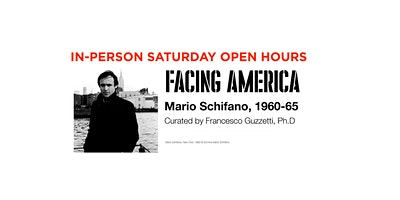 MAY SATURDAY •• open hours •• Facing Ameri