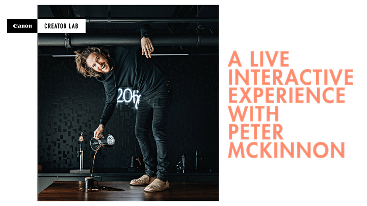 Peter McKinnon: a Live Interactive Experience image