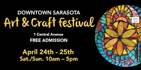 18th Annual Downtown Sarasota Art & Craft Festival tickets
